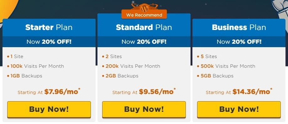 HostGator vs SiteGround: HostGator prices