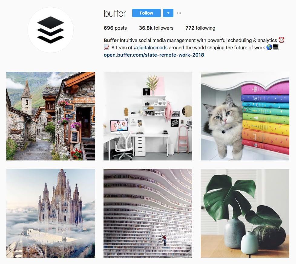 Instagram Marketing Strategy - Buffer Instagram
