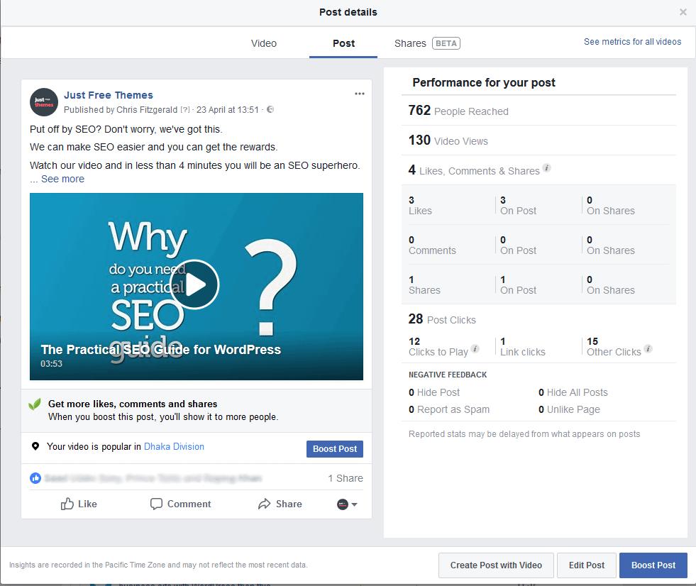 Social Media Case Study 1: Video fail