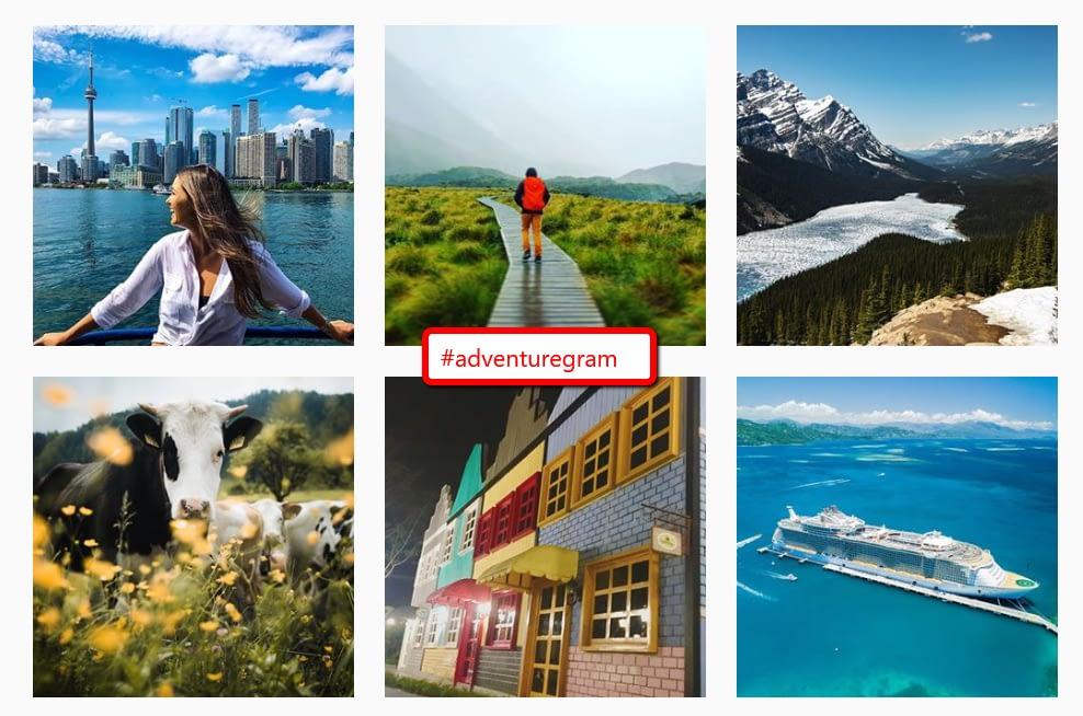 #adventuregram gallery