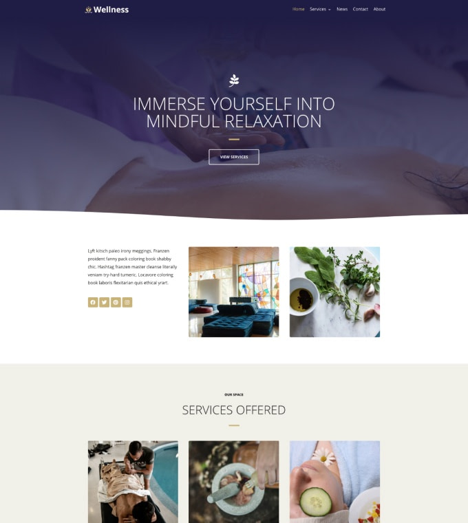 Wellness Spa Featured Image