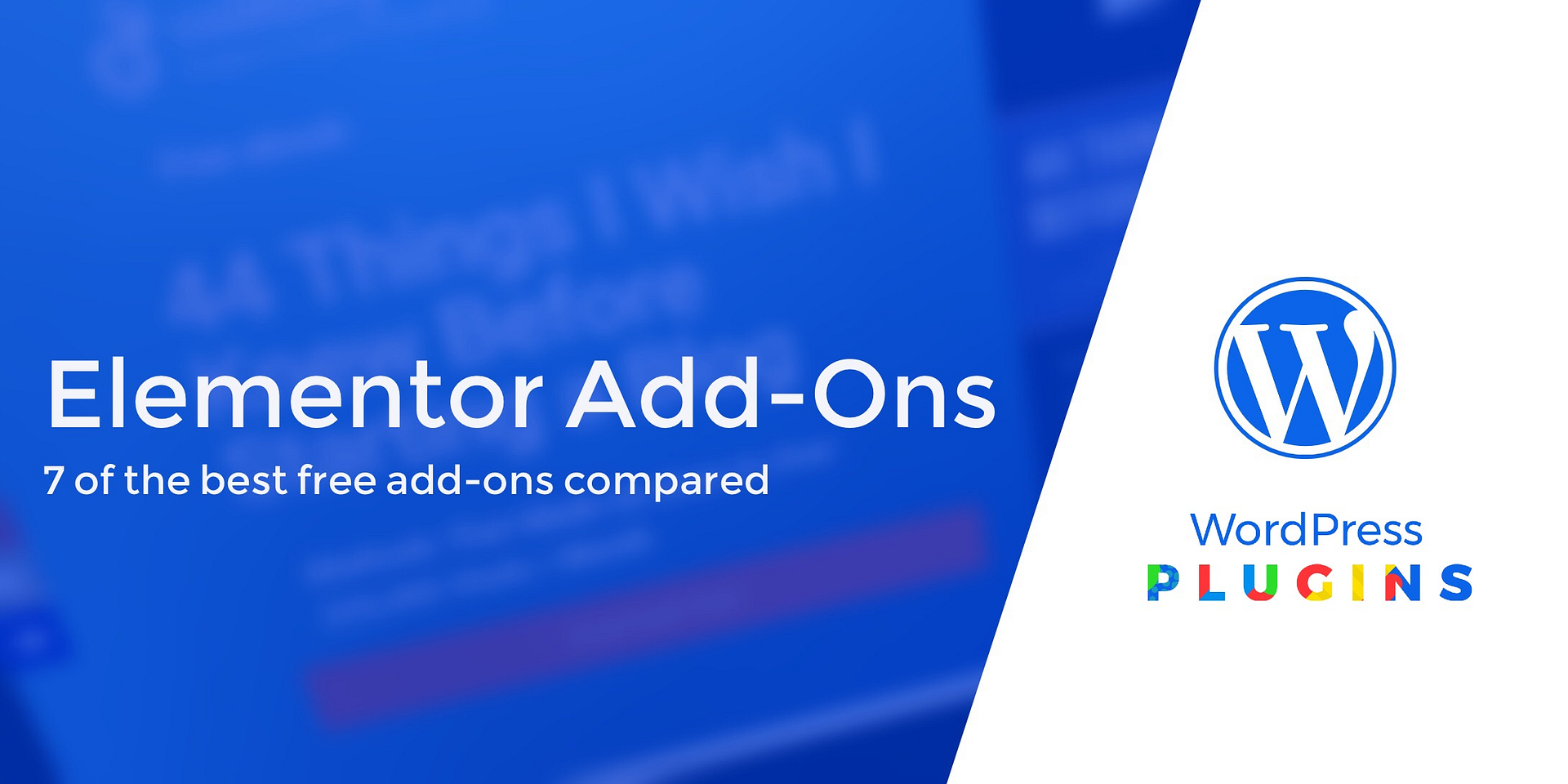 8 Best Free Elementor Add Ons for WordPress Compared