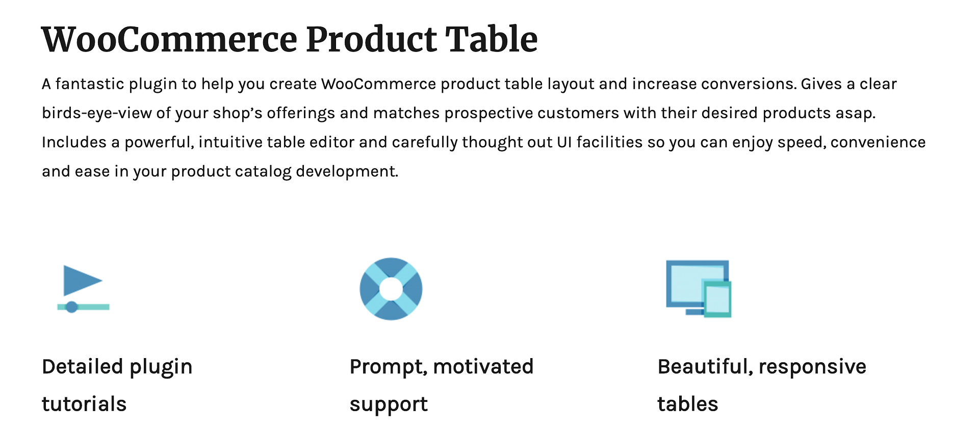 3 WooCommerce Product Table Plugins Compared: Which is Best