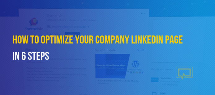 6 Steps to Optimize Your LinkedIn Company Page