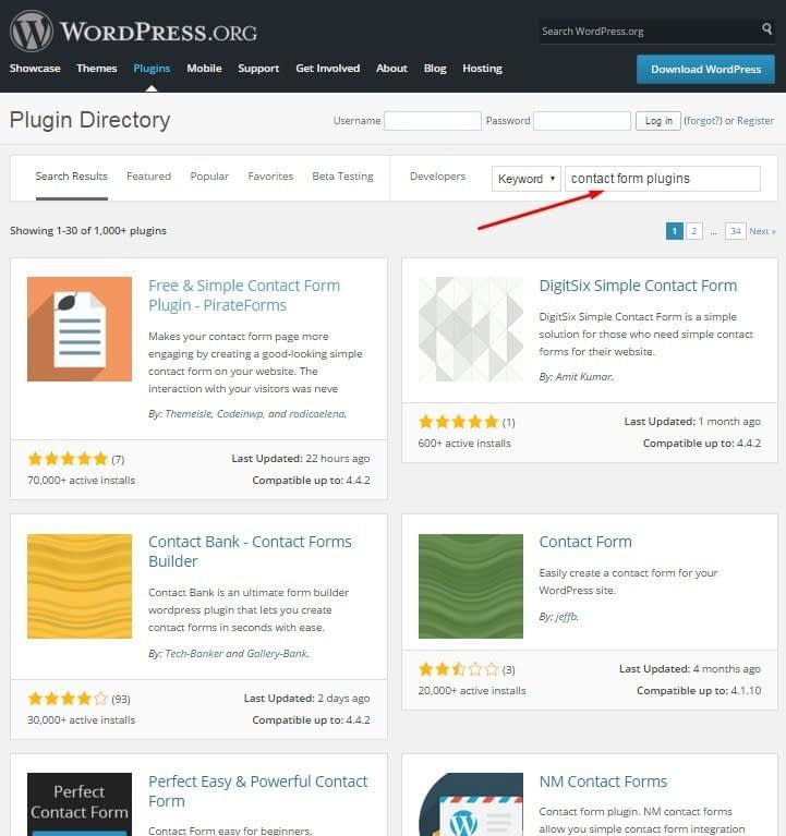 By the way, you can do the same thing without leaving your WordPress dashboard. Click on Plugins in your dashboard menu, then Add New, and then write what ...