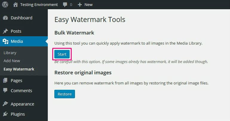 How to Watermark Images in WordPress Automatically