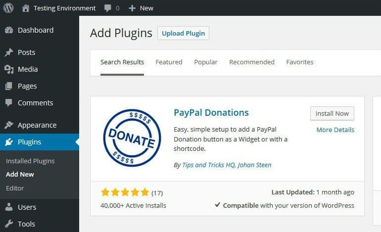 PayPal Donations with WordPress - How to Allow Them