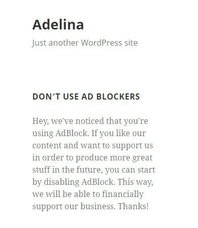 5 Best Anti Adblock WordPress Plugins