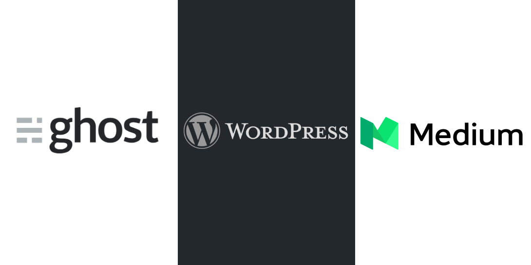 WordPress vs Ghost vs Medium - Which Is Best for Blogging?