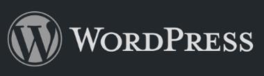 The WordPress logo.