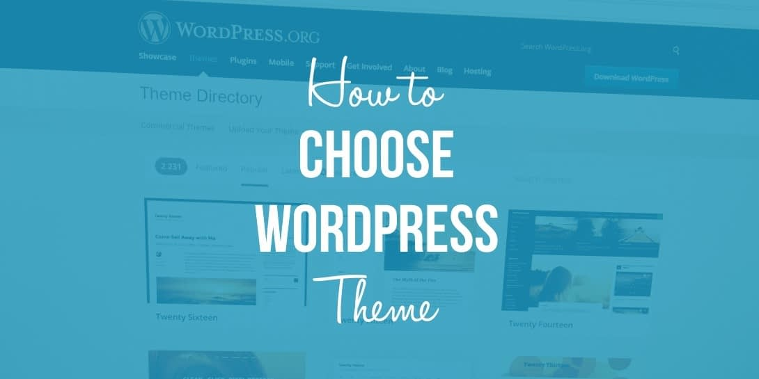 How to Choose a WordPress Theme? 4 Things to Pay Attention To