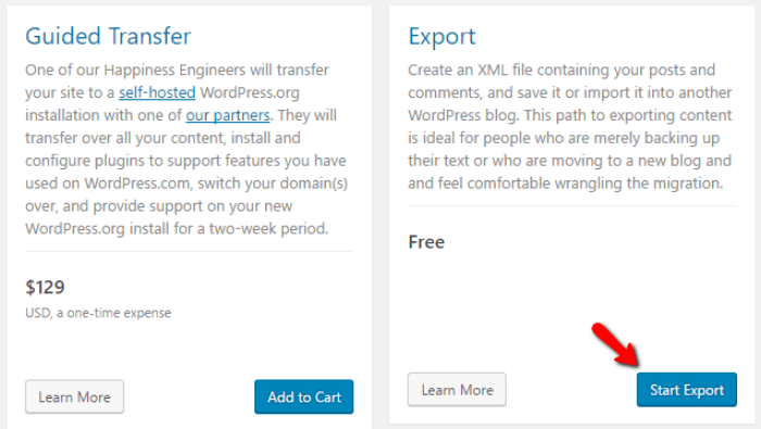 Migrate WordPress com to WordPress org - Complete Guide 2019