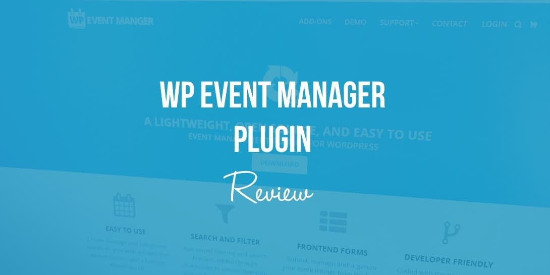 WP Event Manager Plugin Review (Create and Manage WordPress