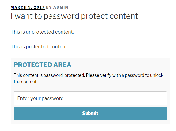 4 Different Ways to Password Protect WordPress