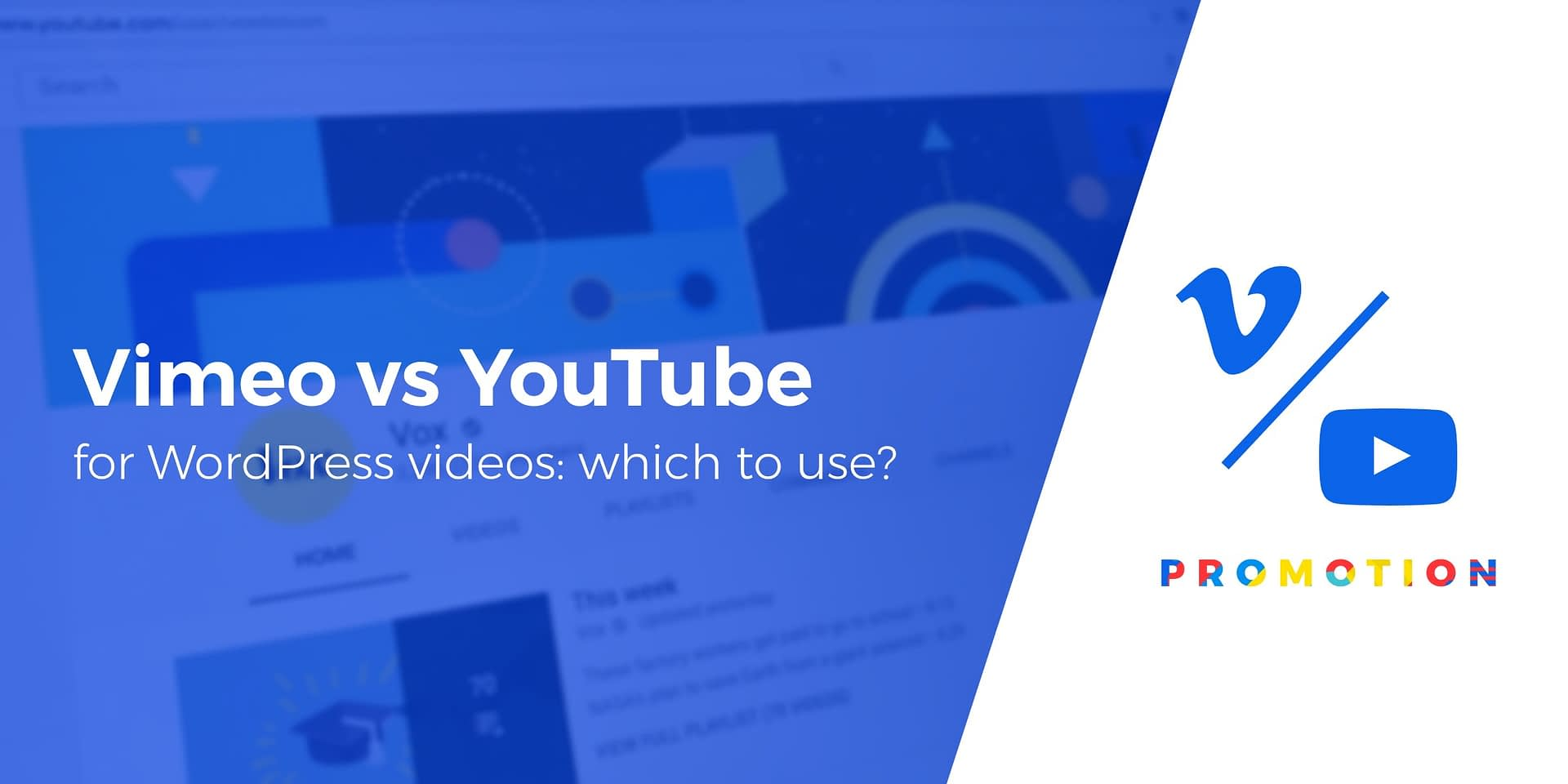 Vimeo vs YouTube for WordPress Videos: Which Should You Use?