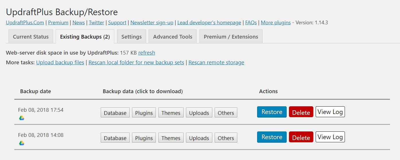 How to Backup a WordPress Site for Free: Step by Step, With