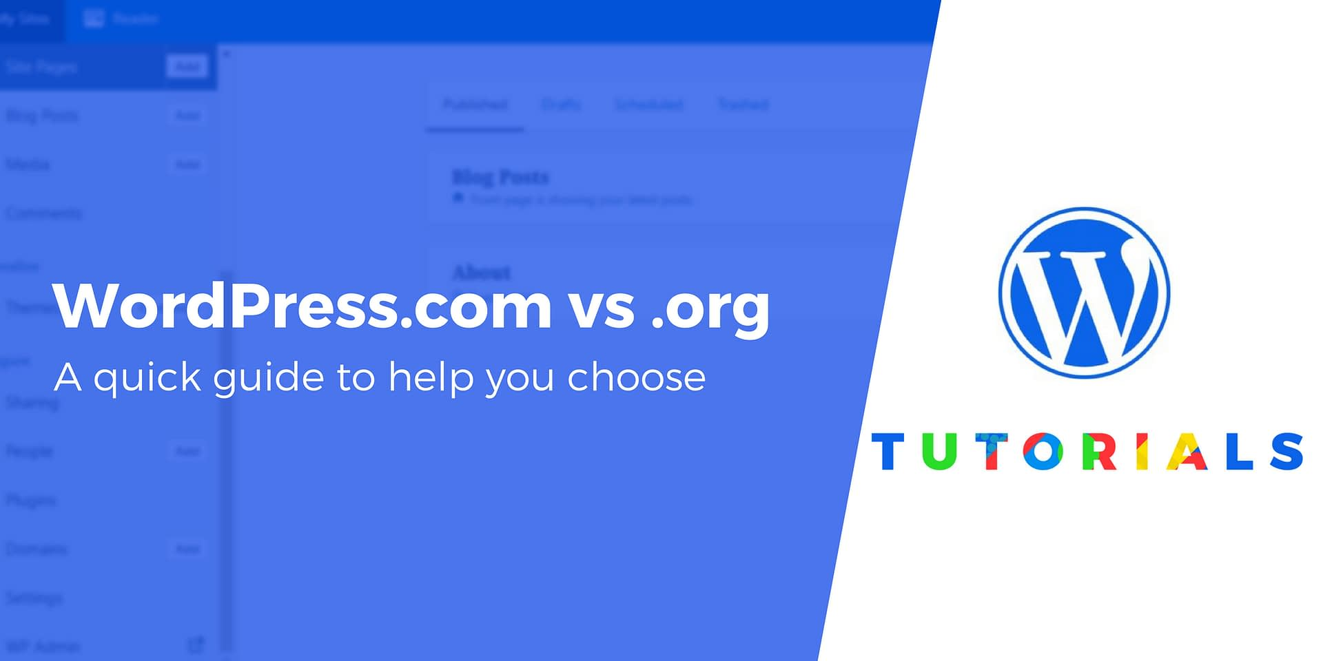 WordPress com vs WordPress org: Key Differences & Which One to Pick