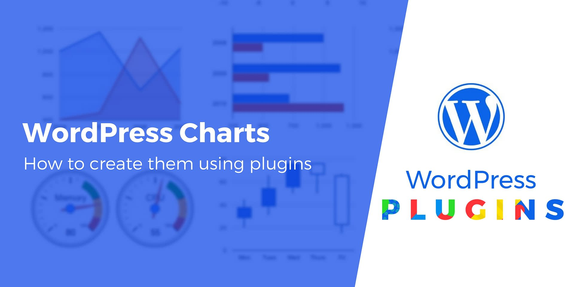 Want WordPress Charts and/or Graphs? A Hands-on Look at 4 Plugins