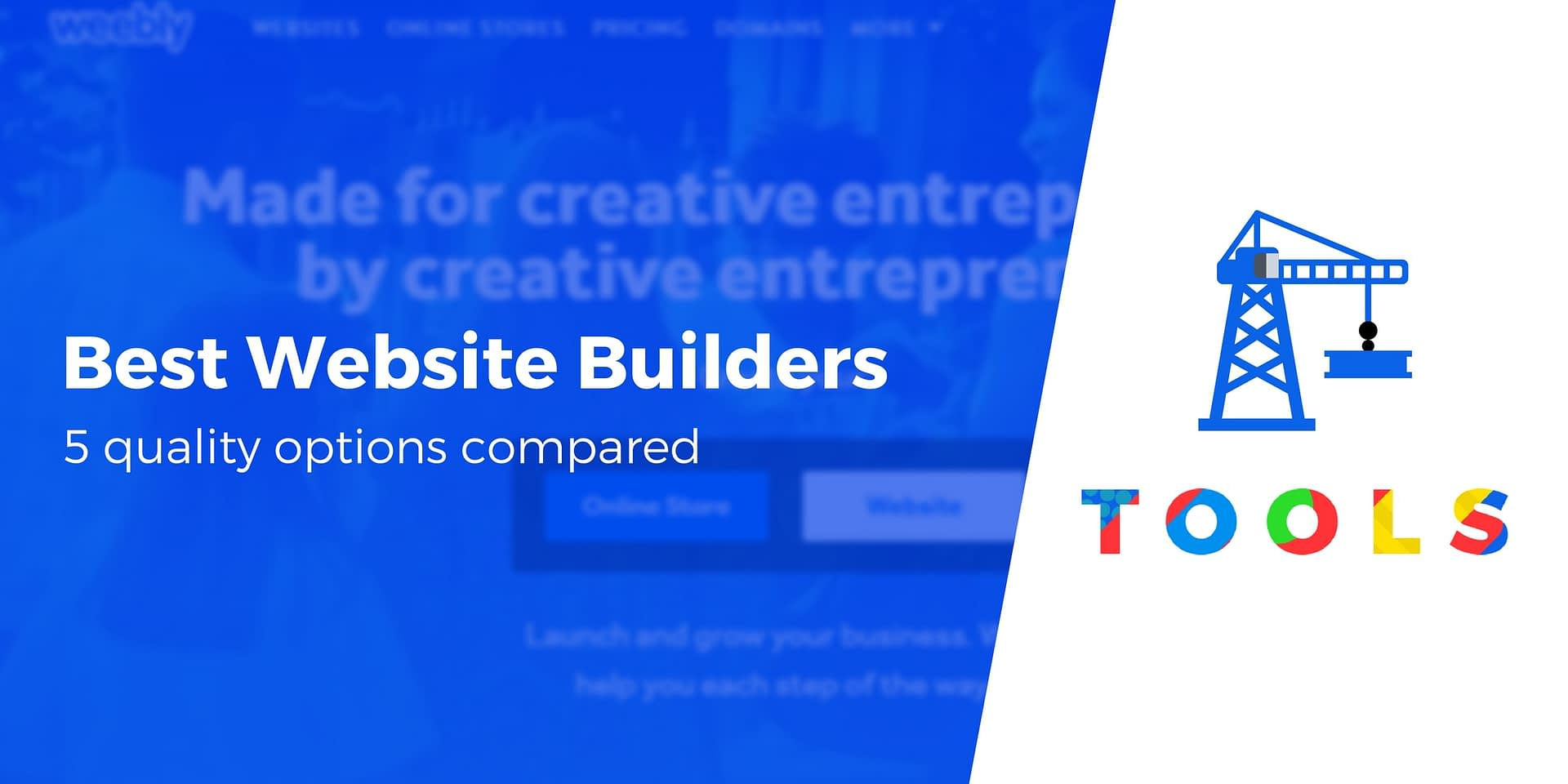 Best Website Builder: 6 Options Compared 2019 (Hands-on Look)