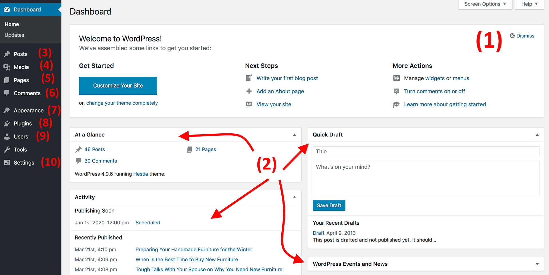 How to create custom comment template in wordpress