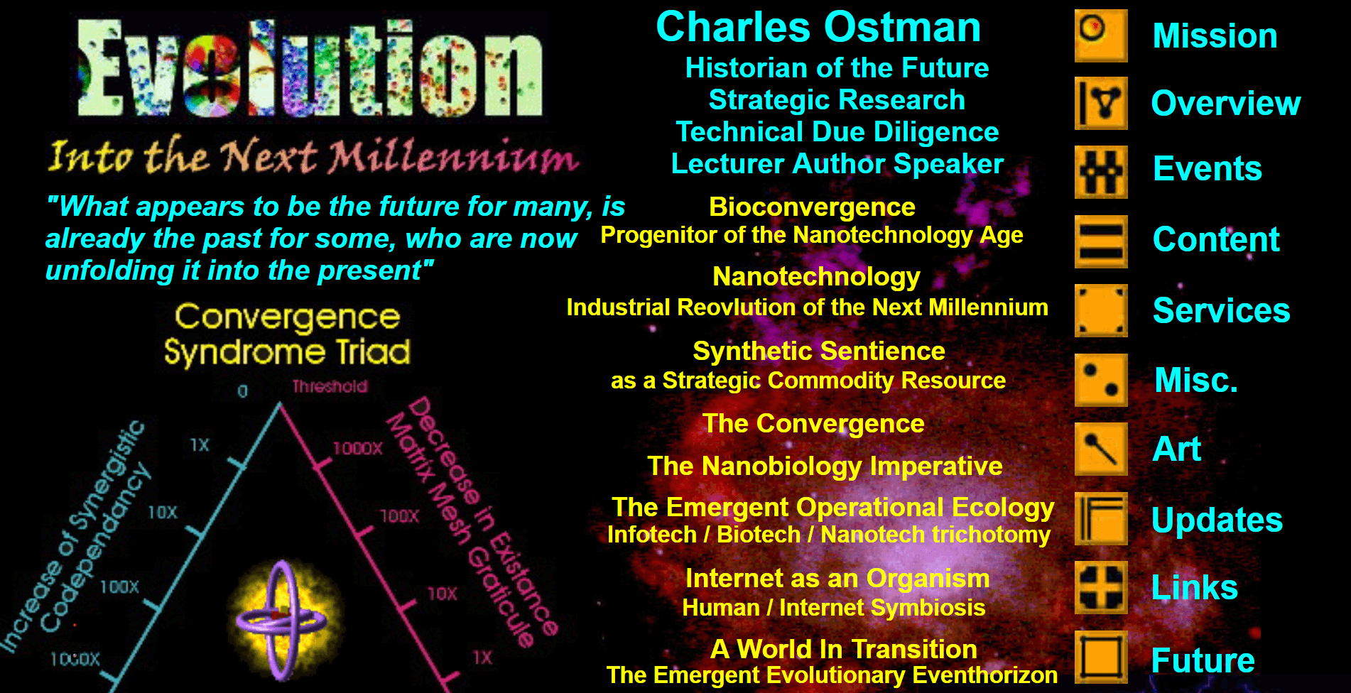 The Historian of the Future website.
