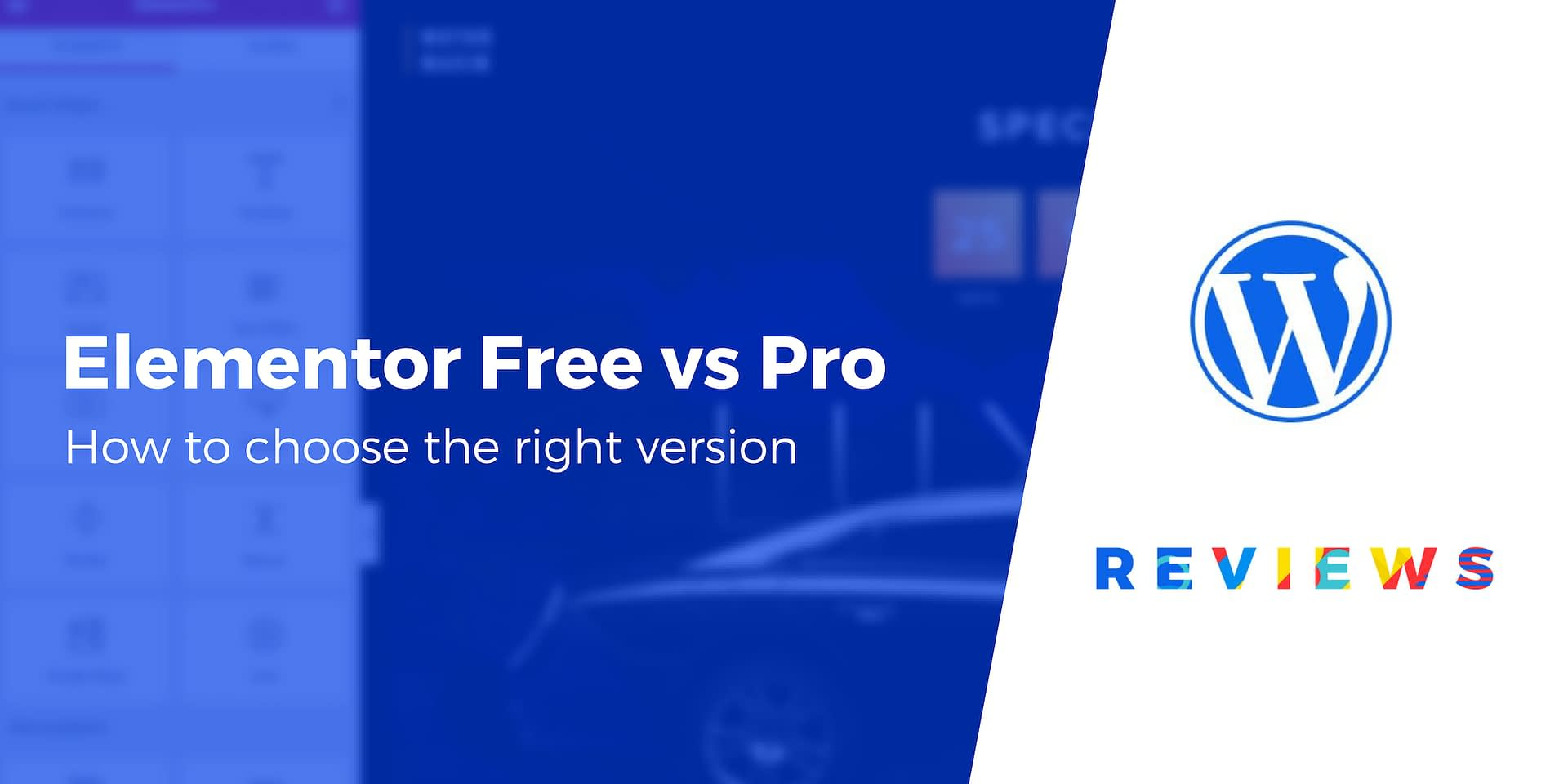 Elementor Free vs Pro Differences: Here's How to Choose the