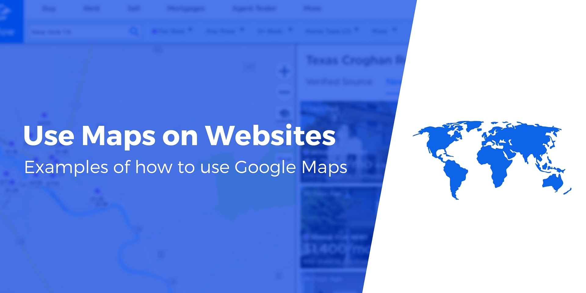10 Creative Ways to Use Google Maps on Website (With Examples)