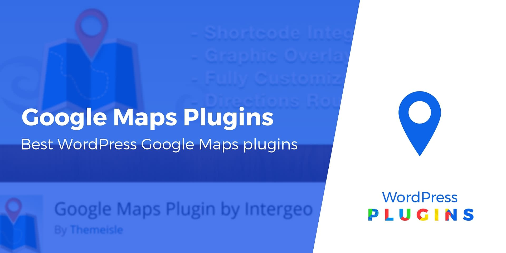 6 of the Best WordPress Google Maps Plugins Compared in 2019 Embed Google Map Wordpress on