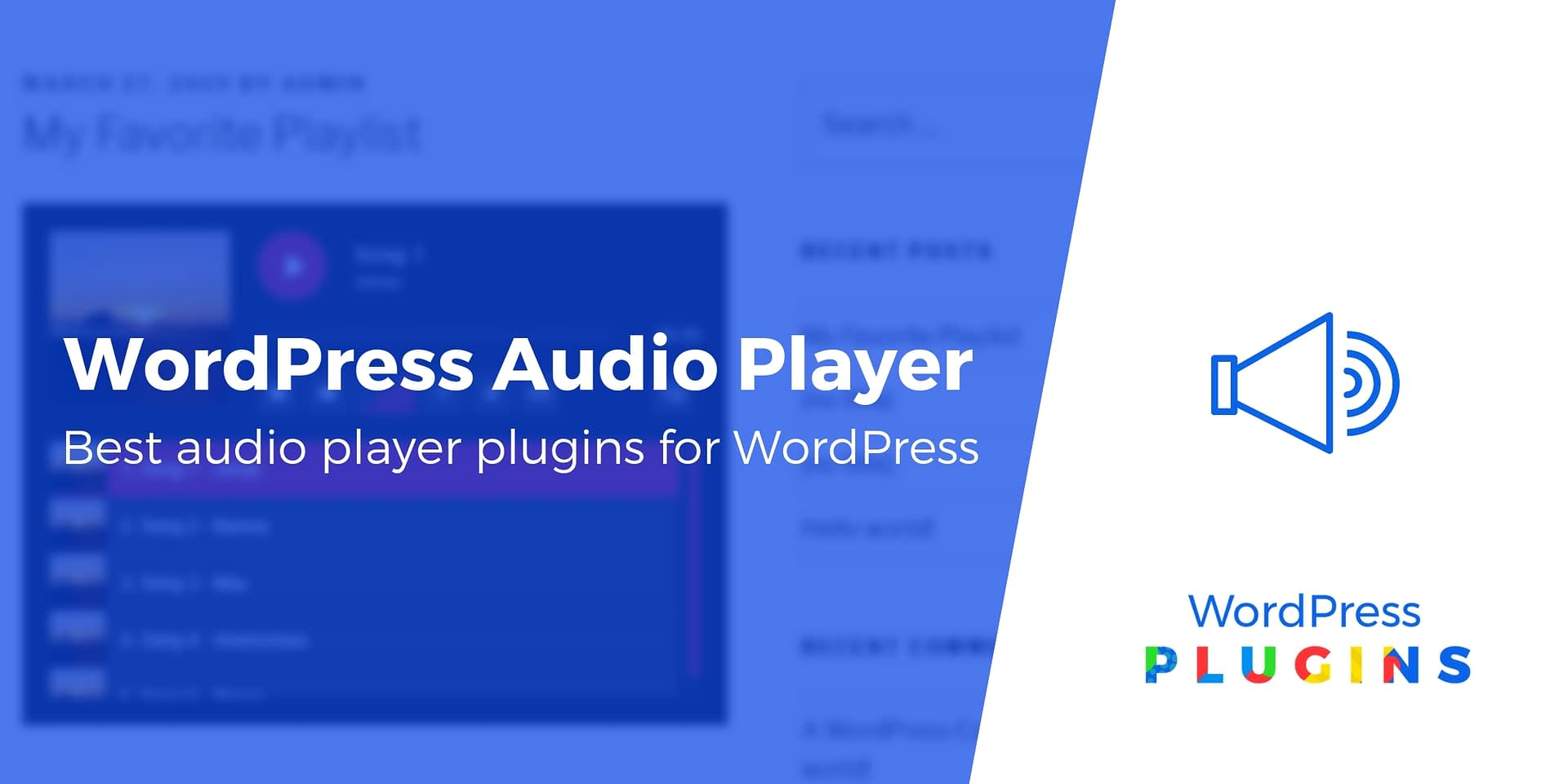 Best Audio Player 2019 6 of the Best WordPress Audio Player Plugins Compared in 2019