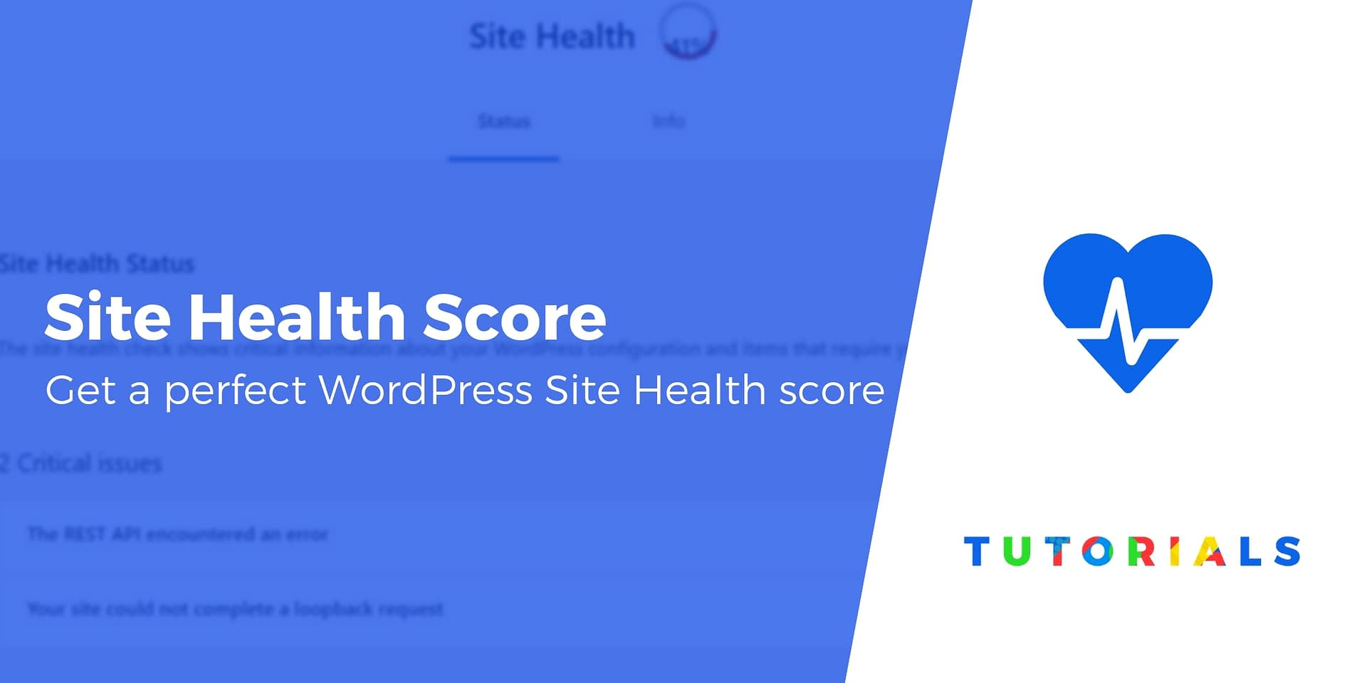 10 Tips to Get a 100% Site Health Score in WordPress 5 2