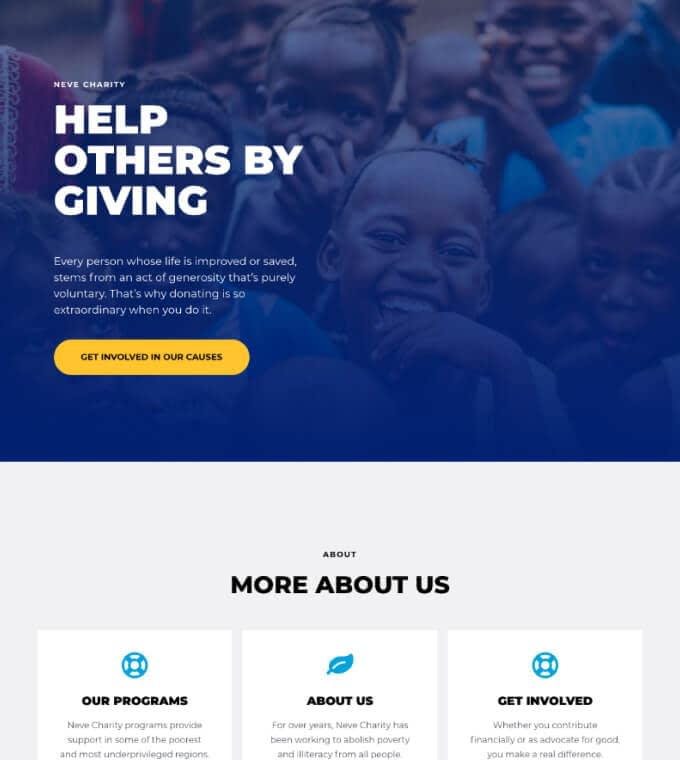 Neve Charity Featured Image