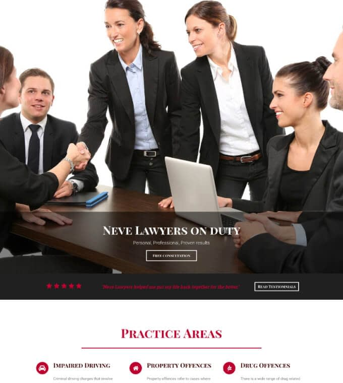 Neve Lawyers Featured Image