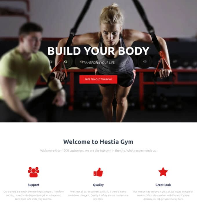 Hestia PRO Gym Featured Image