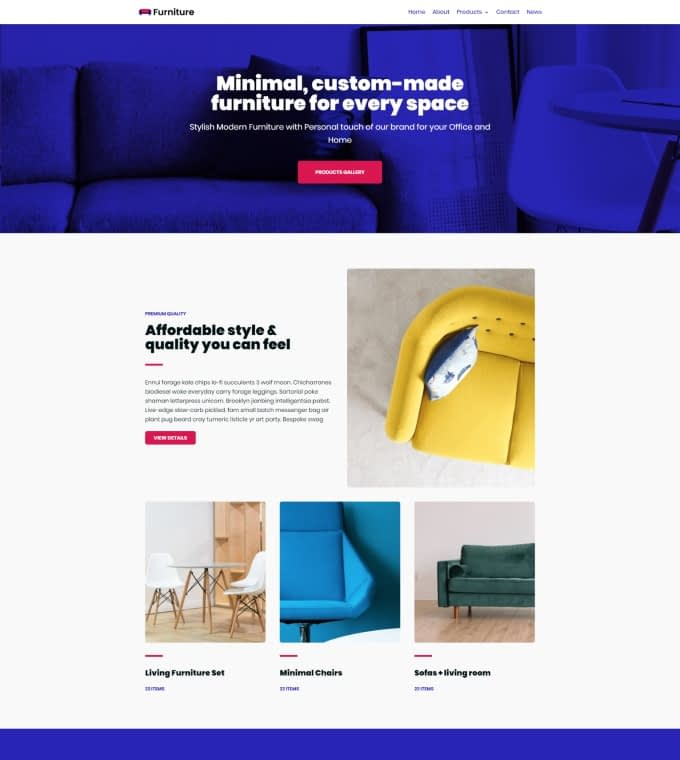 Furniture Shop Featured Image