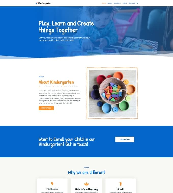 Kindergarten Featured Image